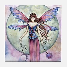 Luna Jewel Celestial Fairy Fantasy Ar Tile Coaster