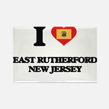 I love East Rutherford New Jersey Magnets