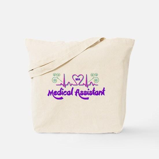 Cute Medical assistant Tote Bag