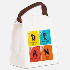 Custom Periodic Name Design Canvas Lunch Bag