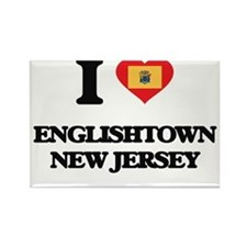 I love Englishtown New Jersey Magnets