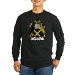 Salwey Family Crest Long Sleeve Dark T-Shirt
