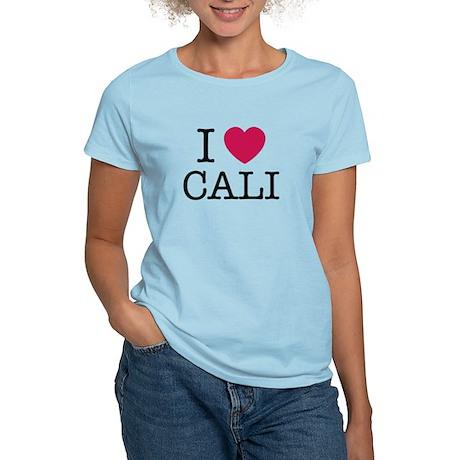 I heart CALI Women's Light T-Shirt