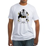 Salvin Family Crest Fitted T-Shirt
