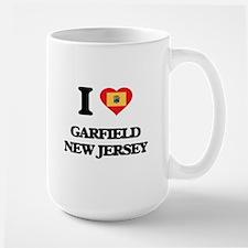 I love Garfield New Jersey Mugs