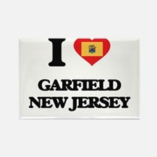 I love Garfield New Jersey Magnets
