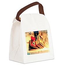 Unique Enid Canvas Lunch Bag