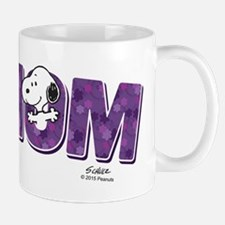 Snoopy - Mom is #1 Mug