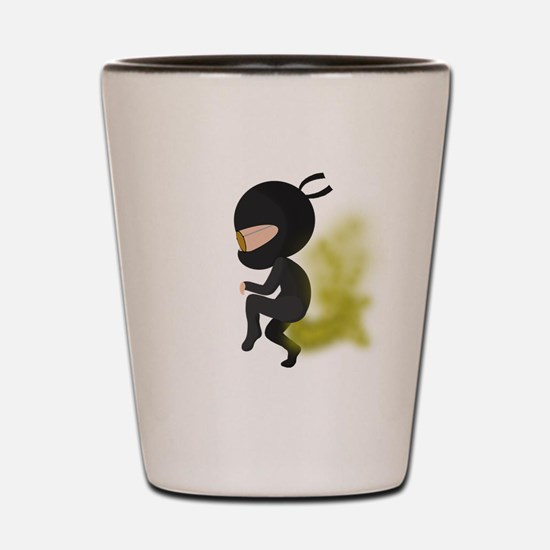 Fart Ninja Shot Glass