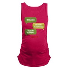 Knocked Up Pregnant Maternity Tank Top