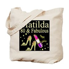 DAZZLING 80TH Tote Bag