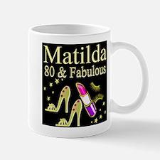 DAZZLING 80TH Small Small Mug