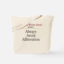 Alliteration -  Tote Bag