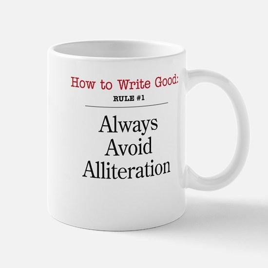 Alliteration -  Mug