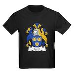 Saint Family Crest Kids Dark T-Shirt