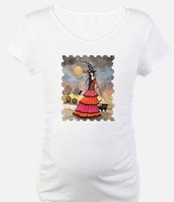 A Halloween Stroll Witch and Bla Shirt