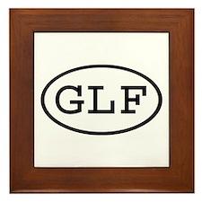 GLF Oval Framed Tile