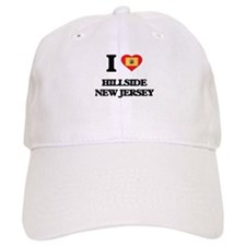 I love Hillside New Jersey Baseball Cap