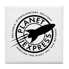 Planet Express Logo Tile Coaster
