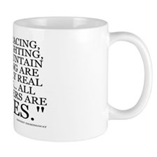 THE ONLY REAL SPORTS Small Mug