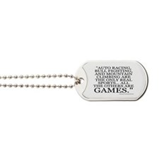 THE ONLY REAL SPORTS Dog Tags