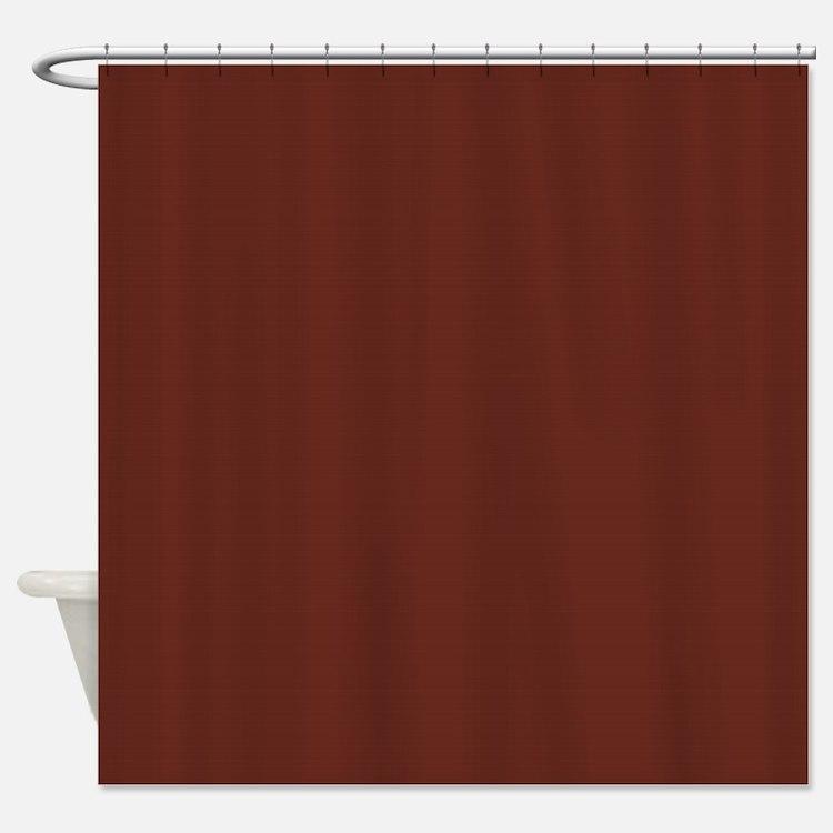 Plain Brown Shower Curtains   Plain Brown Fabric Shower Curtain Liner