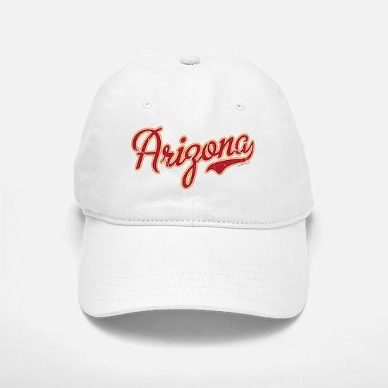 Arizona Script Font VINTAGE Baseball Baseball Cap