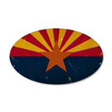Arizona State Flag VINTAGE Wall Decal