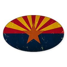 Arizona State Flag VINTAGE Decal