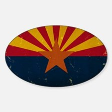 Arizona State Flag VINTAGE Decal