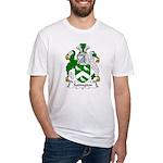 Sadington Family Crest Fitted T-Shirt