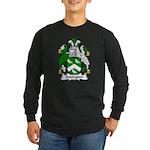 Sadington Family Crest Long Sleeve Dark T-Shirt