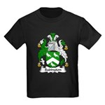 Sadington Family Crest Kids Dark T-Shirt