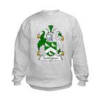 Sadington Family Crest Kids Sweatshirt