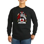 Sabin Family Crest Long Sleeve Dark T-Shirt