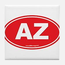Arizona AZ Euro Oval Tile Coaster
