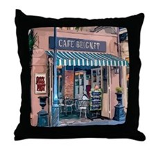 Funny New orleans Throw Pillow