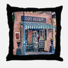 Cute French quarter Throw Pillow