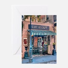 Cute Cafe Greeting Card