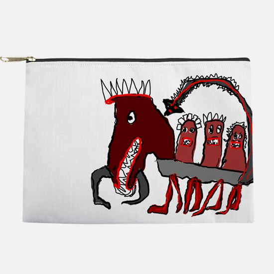 Scorpion Horse Makeup Pouch