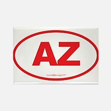 Arizona AZ Euro Oval Rectangle Magnet