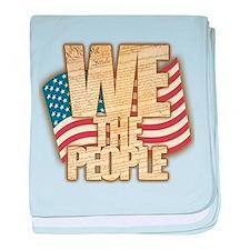 We The People baby blanket