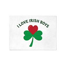 Love Irish Boys 5'x7'Area Rug