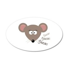 Mouse Squeak Wall Decal