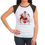 Rutt Family Crest Women's Cap Sleeve T-Shirt