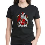 Rutt Family Crest Women's Dark T-Shirt