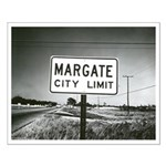 Margate City Limits Street Sign Posters