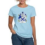 Rust Family Crest Women's Light T-Shirt