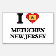 I love Metuchen New Jersey Decal