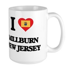 I love Millburn New Jersey Mugs